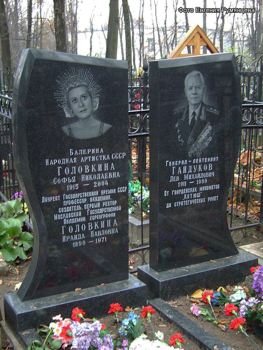 Г москва ваганьковское кладбище уч